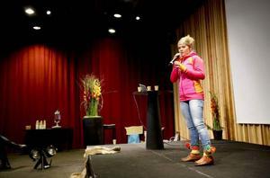 Tanja Nordfjells jojk trollband publiken på Åredagen i fredags.