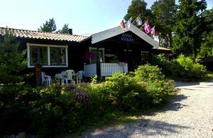 Hamnstugan i Spikarna är till salu. Bilden är från Sundsvalls Tidnings arkiv.