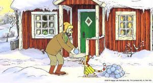 Gubben Pettson och hans katt Findus är tillbaka i ett nytt äventyr. Den här gången med julstämning i. Precis som i julkalendern för tretton år sedan bygger Pettson en tomtemaskin åt sin älskade katt.