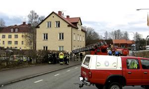 Lars-Inge Svartenbrandt har hittats död i samband med en lägenhetsbrand i Kopparberg.