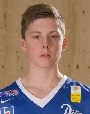 Adam Johansson, uttagen i H16-landslaget.