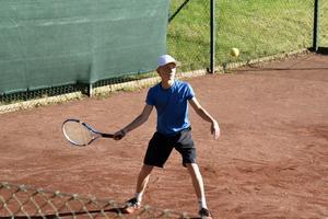 Örnsköldsviks Tennisklubbs Noah Morin i P13.
