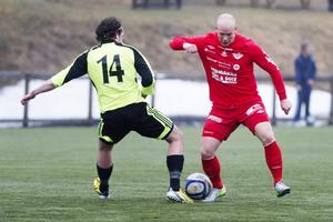 Simon Gustafsson blev målskytt och var Anundsjös bästa spelare när Sandviks besegrades med 3–1.    Foto: JENNIE SUNDBERG/ARKIV