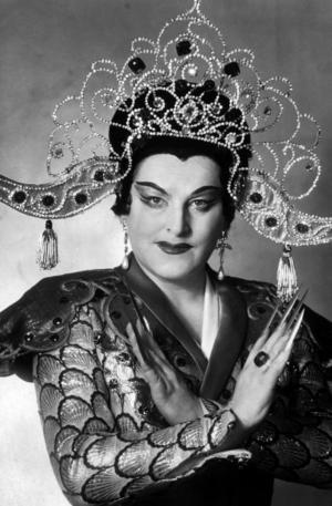 Birgit Nilsson som Turandot.