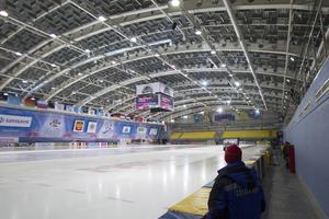 Här, i Volga-Sport-Arena, spelades större delen av det förra världsmästerskapet.
