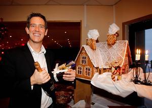 Patrik Attini, hotellchef på Södra berget ser framemot årets julgala.