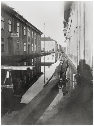 Nybrogatan mot väster. Foto: C.A. Skogqvist