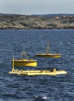 Friskt vågat. Vi ser nu en kraftfull tillväxt av förnybar elenergi. Spännande stora projekt, som vågkraftprojektet Seabased utanför Lysekil, får specialstöd, skriver debattörerna. foto: scanpix