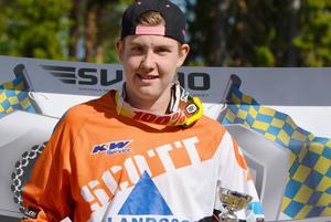 Adam Andersson blev tvåa totalt i tävlingen.