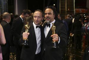 Emmanuel Lubezki och Alejandro G Iñárritu fick båda pris för sina insatser i