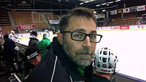 """Stefan """"Lillis"""" Jonsson inför avfärden mot Solna och Friends Arena."""