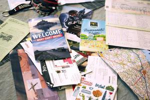Under resans 20 dagar hann Viveka Lundström med attsamla på sig många souvenirer och minnen.