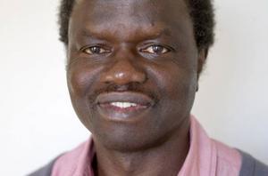 Integrationsassistent Emmanuel Gbakagna.