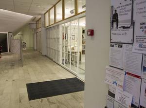 Missbrukare och hemlösa söker sig till biblioteket.