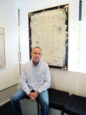 Gävlekonstnären Mats Pettersson visar en utställning i lugnt tempo.