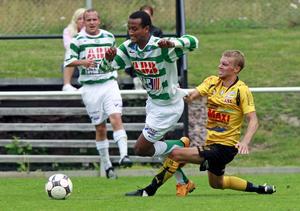 Temme i duell med Skiljebos Henrik Jannborg, 2008.