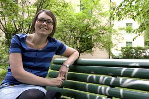 Kristin Berglind är bibliotekarie till yrket och vistas gärna i naturen under sin lediga tid.