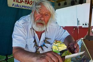 Vild-Hasse är tacksam för dagen i Ekshärad då han slogs av idéen om att sälja korv.