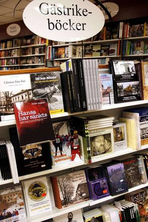 Sandviken är bättre på att sälja lokala böcker.