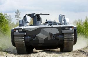 Armadillo är BAE Systems Hägglunds nya transportfordon.