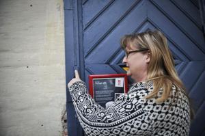 Katarina Ödmark hörde att ringklockan lät men när hon testade den fungerade den inte.