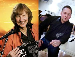 Roland Cedermark och Kingen spelar på sommarcaféet i Ytterberg.
