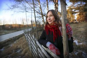 Folksångerskan Ulrika Bodén fick ta emot 2015 års Birger Norman-pris.