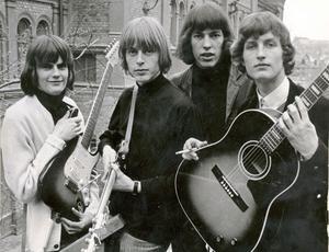 The Flippers, anno 1960-tal. I kväll spelar bandet, som återförenades för ett par år sedan, på pop- och rockgalan i Säterdalen.