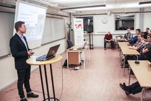 Magnus Lemoine från Högskolan i Gävle berättar om ingenjörsutbildningar.
