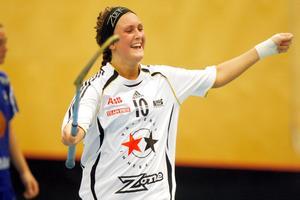 Madelene Backlund kan hamna i Sala Silverstaden. Foto: Anders Forngren