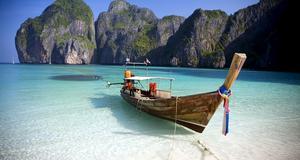 Thailand - fina stränder också under sommaren.