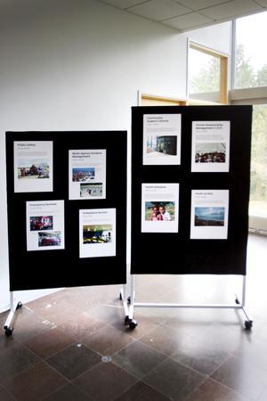 För en månad sedan invigde kommunalrådet Carina Blank utställningen om Gävle kommuns samarbete med Buffalo City i Sydafrika. En afrikansk delegation fanns på plats. I dag är sista dagen på utställningen där föremål, bilder och faktablad finns med. Tyvärr finns inga bildtexter, inga förklaringar till föremålen och faktabladen har korta texter på byråkratengelska.