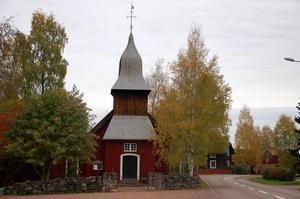 Oxbergs kapell från tidigt 1700-tal.