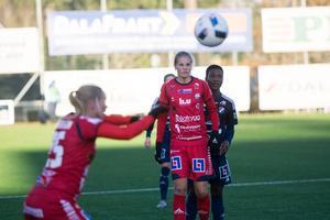 Lina Hurtig blev SM–mästarinnan under kvällen – tillsammans med sitt LFC.