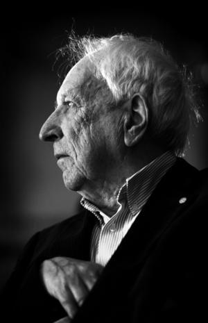 Poeten Tomas Tranströmer (1931–2015).   Foto: Fredrik Sandberg/TT