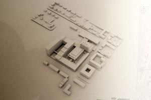 Under våren kommer skisser och modeller som visar arkitektstudenternas förslag att ställas ut i entréhallen på Östersunds sjukhus.