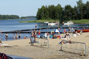 Sörtutt och de övriga officiella badplatserna i Sandviken håller hög standard enligt de inspektioner som bygg- och miljöförvaltningen gjort under sommaren.