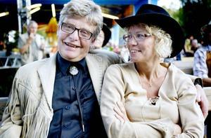 LUTTRADE BESÖKARE. Bosse Mårtensson och Ann-sofie Lif var där  för fjärde året i rad.