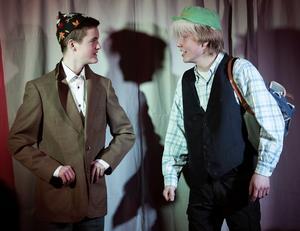 Andreas Martinsson och Erik Karlsson delgav publiken sina efarenheter av att vara gifta i många år.