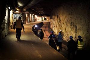 När bergsrummet var militärt vad det strängt hemligt. Här vill Bräcke kommun skapa en tunnel för skidåkning, Midsweden Ski Park. Arkivbild.