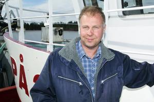Krister Persson, skeppare på Polaric, har fiskat i drygt 30 år.