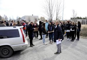 Hedi Khalfallal hoppades att en fredlig manifestation kunde ge den hjälp som Ghader Ghalamere och hans familj behöver.