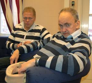 Ola Brossberg ombudsman på Seko och Per Sköld har överklagat Försäkringskassans avslag på sjukersättning.