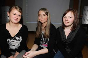Sasha Toksubaeva, Lada Federenko och Anna Martinsson har haft en trivsam vecka och utbytt många erfarenheter mellan varandra.Foto: Håkan Degselius