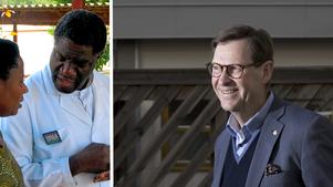 Denis Mukweges Panzisjukhus i Kongo har tidigare fått hjälp av örebroaren Tommy Sandén från Rotary Örebro (bilder från 2014). Nu inbjuds fredspristagaren som hedersgäst till den fredsvecka som Tommy Sandén ordnar i Örebro i oktober. Arkivfoton: TT/NA