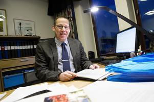 Kommundirektör Peter Carlstedt är nöjd med valet av ny förvaltningschef.