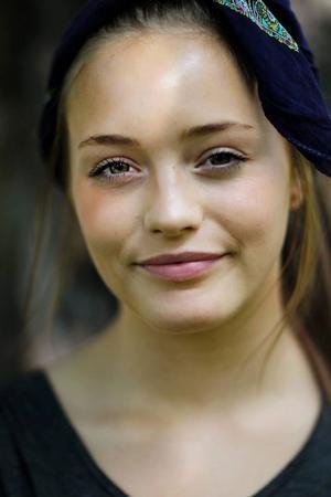 Matilda Melin är 17 år och bor i Östersund. Fritiden ägnar hon åt musik, fotboll och sin blogg maddelishees.blogg.seFoto: Henrik Flygare