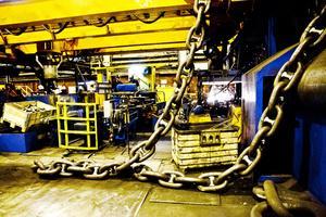 Full fart. Ramnäs bruk kommer att fördubbla sin tillverkningskapacitet med den nya investeringen.