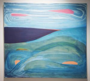 Bumerang, målning av Christina Hedlund.