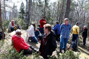 Solberg. Ulla Sundström tror att höjden Solberg i Bergby kan ha varit en av kultplatserna, ett Wij.